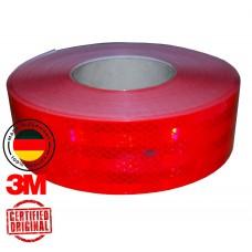 Светоотражающая лента 3M Diamond Grande 983-72 красная 42109 - за 1 м