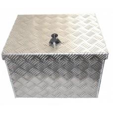 Ящик для инструмента с замком, алюминий