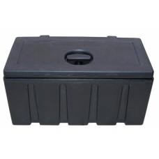 Ящик для инструментов DAKEN пластик черный 42530