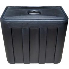 Водонепроницаемый ящик для инструментов, пластик, черный