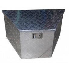 Ящик для инструмента алюминиевый, трапециевидный