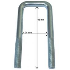 Стремянка M 10, LH 95 x LW 36 mm