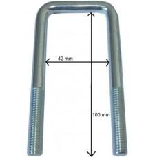 Стремянка M10, LH 100 x LW 42мм