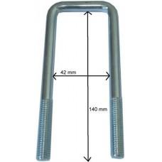 Стремянка M10, LH 140 x LW 42 mm