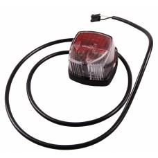 Контурно-габаритный фонарь красно-белый Geka 10888