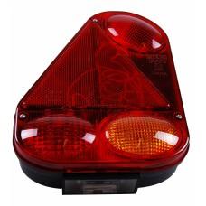 Многокамерный фонарь левый Radex треугольной формы 10777
