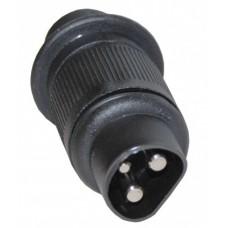 Вилка 3-контактная Menbers 63573