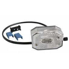 Передний белый контурно-габаритный фонарь с проводом Aspock Flexipoint I 105060
