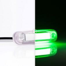 Фонарь декоративный зеленый с проводом Fristom FT-045 ZIEL LED