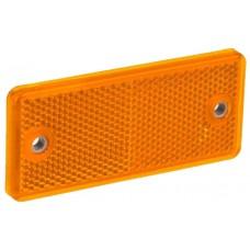 Светоотражатель Fristom жёлтый с двумя отверстиями DOB-034 Z