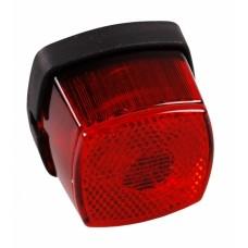 Задний красный контурно-габаритный фонарь с отражателем Aspock Squarepoint Rot 10560