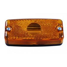 Боковой контурно-габаритный фонарь с отражателем, желтый Geka 10411