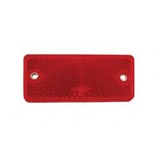 Светоотражатель Fristom красный 94х44 мм 2 отверстия самоклеющаяся основа DOB-042 A C
