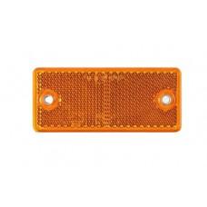 Светоотражатель Fristom желтый 94х44 мм 2 отверстия самоклеющаяся основа DOB-042 A Z