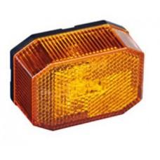 Боковой оранжевый контурно-габаритный фонарь с отражателем Aspock Flexipoint Led 60204