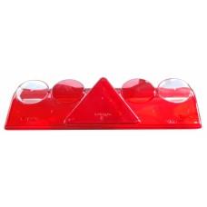 Запасное стекло Aspock для фонарей 10982 и 10983 на прицеп