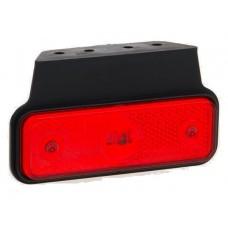 Фонарь габаритный Fristom FT-004 C+K LED красный на кронштейне с проводом