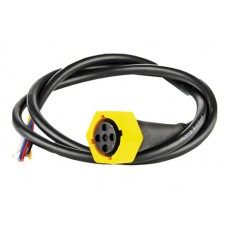 Байонетный штекер Fristom 5 pin левый с кабелем WTY Bajonet L