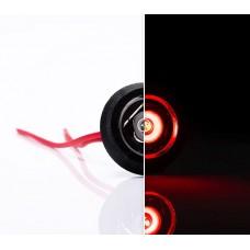 Фонарь габаритный Fristom красный с проводом FT-074 C LED