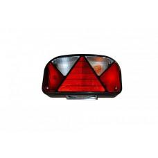Запасное стекло Hella для фонарей подсветки заднего номера 60045, 60046