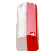 Запасное стекло Proplast для габаритных фонарей: 10532, 10533, 10534. Цвет: красный/белый