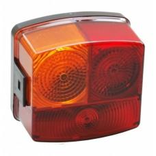 Трехкамерный фонарь легкового прицепа левый Hella 60032