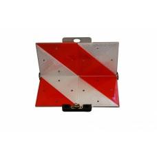 Предупреждающий знак Geka передний складной 285 x 285 мм с 8 отражателями 40491
