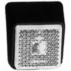 Передний белый контурно-габаритный фонарь с наклоном 25° с отражателем на кронштейне Jokon 10566
