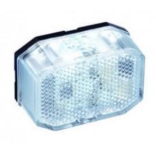 Контурно-габаритный фонарь красно-белый Aspock Flexipoint Led 60206