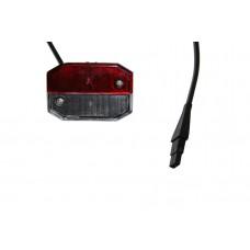 Контурно-габаритный фонарь красно-белый с проводом Aspock Flexipoint I Rot/Weiss 10527