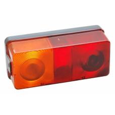 Задний трехкамерный фонарь прицепа левый Hella 60036