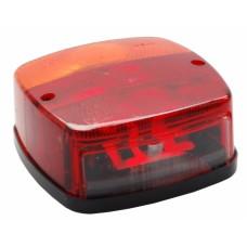 Трёхкамерный фонарь Geka с подсветкой номера правый/левый 10006