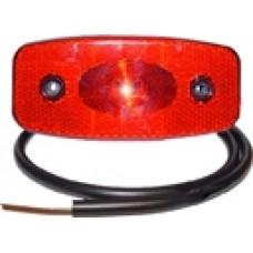 Задний красный контурно-габаритный фонарь Proplast LED с отражателем 10490