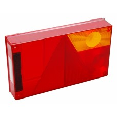 Запасное стекло Aspock Multipoint 1 COVER LENS 10096 для фонарей 10094, 100941, 100940 правое