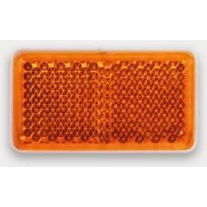 Светоотражатель желтый Fristom самоклеющаяся основа FT-46x26Z