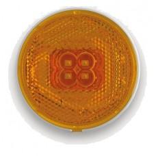 Фонарь габаритный Fristom FT-060 Z LED желтый со светоотражателем и проводом