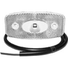 Передний белый контурно-габаритный фонарь LED с отражателем Proplast 10491