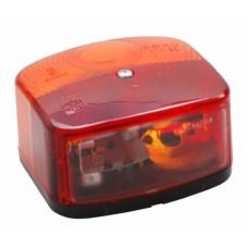 Трехкамерный фонарь правый Geka с подсветкой номера 10068