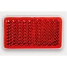 Светоотражатель красный Fristom 46х26мм самоклеющаяся основа FT-46x26C