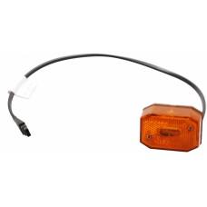 Боковой оранжевый габаритный фонарь с отражателем Aspock Flexipoint I 10571