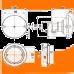 Фонарь заднего хода Jokon W 710-W 10814