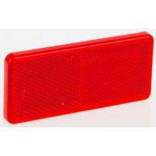 Светоотражатель Fristom красный 90х40мм самоклеющаяся основа DOB-035 C