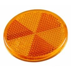 Катафот желтый 60мм Aspock Rückstrahler Round 60mm 10204