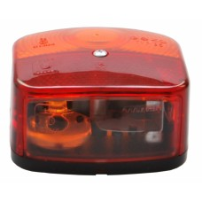 Трехкамерный фонарь левый Geka с подсветкой номера 100680
