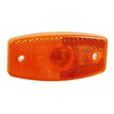 Боковой оранжевый контурно-габаритный фонарь Jokon с отражателем 100920