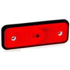 Фонарь габаритный Fristom FT-004 C LED красный с проводом