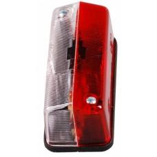 Контурно-габаритный фонарь боковой красно-белый Proplast 10532