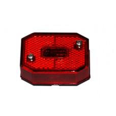 Задний красный контурно-габаритный фонарь с отражателем Aspock Flexipoint I Rot 10590