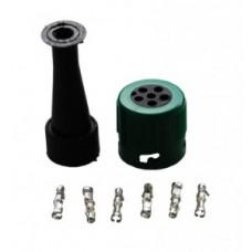 Байонетный коннектор 6 pin Jokon правый 10744